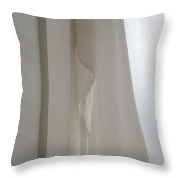 It Has None Throw Pillow by Stan Magnan