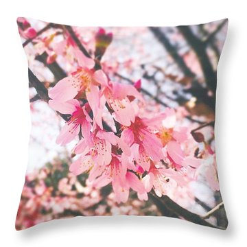 It Is A #gorgeous Spring Day Here In Throw Pillow