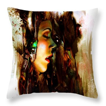 It Is Just A Dream Throw Pillow