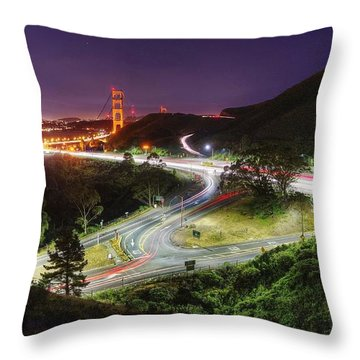 It Never Stops, It Never Gets Old Throw Pillow