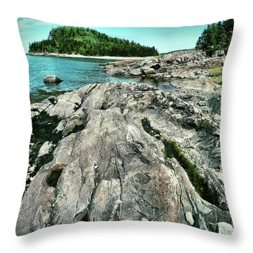 It Rocks  Throw Pillow by Aimelle