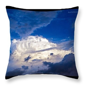 It Smelled Like #rain Tonight. I Am Throw Pillow