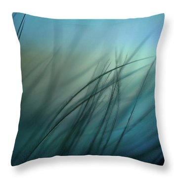 It Takes Courage To Stay Delicate Throw Pillow