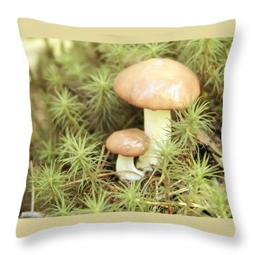 It Takes Two.. Throw Pillow