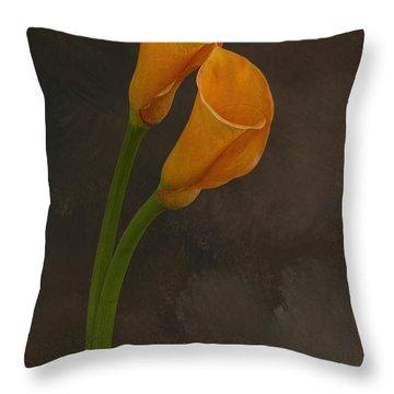 It Takes Two To Tango Throw Pillow