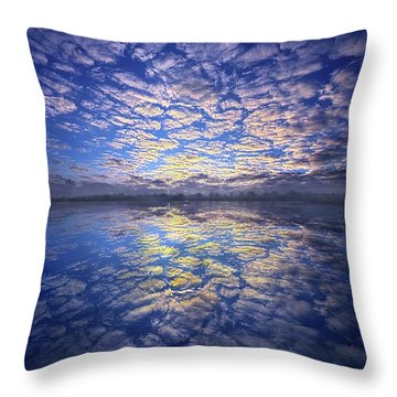 Throw Pillow featuring the photograph It Was Your Song by Phil Koch