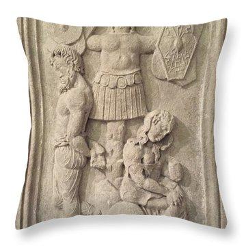 Italian Archeology Throw Pillow
