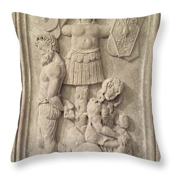 Italian Archeology Throw Pillow