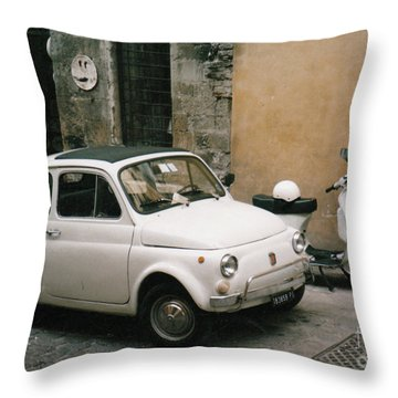 Italian Classic Commute  Throw Pillow