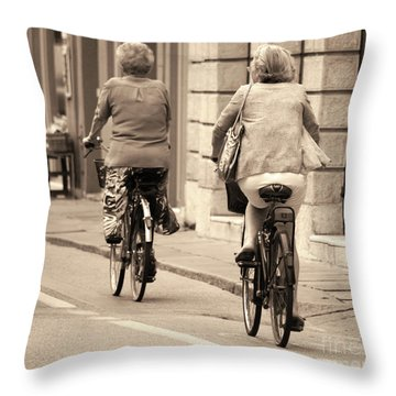 Italian Lifestyle Throw Pillow