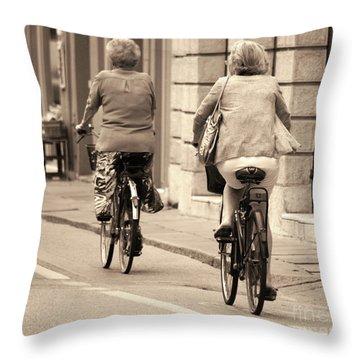 Italian Lifestyle Throw Pillow