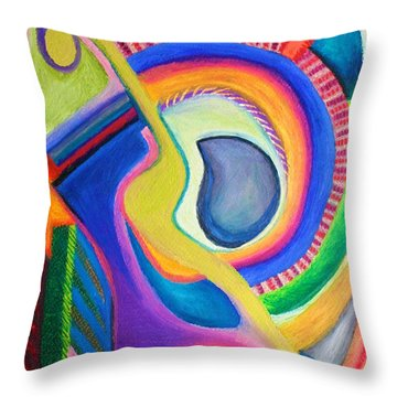 Italian Opera Throw Pillow