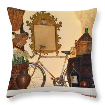 Italian Osteria Throw Pillow