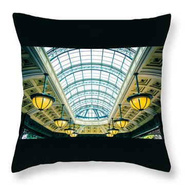 Italian Skylight Throw Pillow