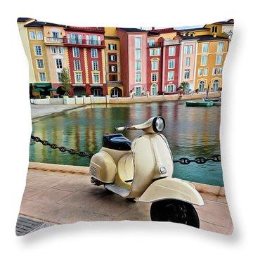 Italian Vista Series 8011y Throw Pillow