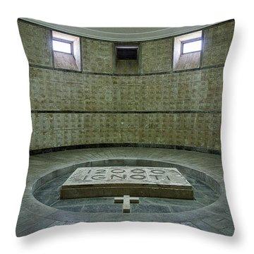 Throw Pillow featuring the photograph Italian World War One Shrine #2 by Stuart Litoff