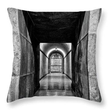 Throw Pillow featuring the photograph Italian World War One Shrine #4 by Stuart Litoff