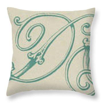 Italic Throw Pillow