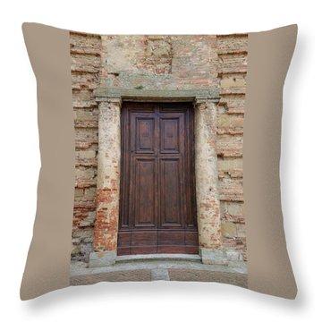Italy - Door Nineteen Throw Pillow