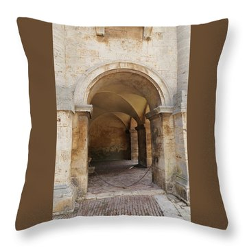 Italy - Door Sixteen Throw Pillow