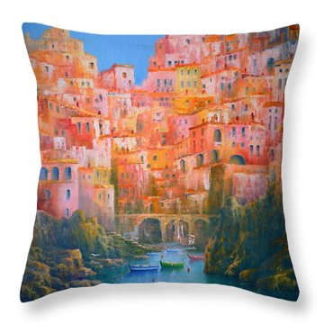 Impressions Of Italy   Throw Pillow