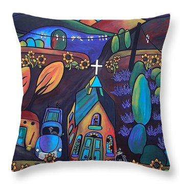 It's A Beautiful Morning Throw Pillow