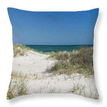 It's A Cape Cod Kind Of Day Throw Pillow