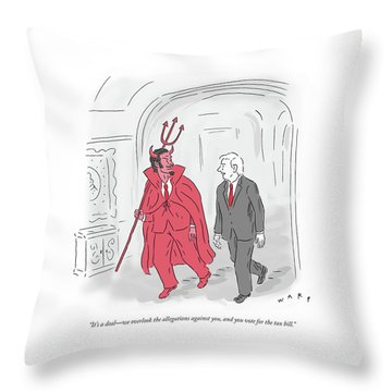 Its A Deal Throw Pillow