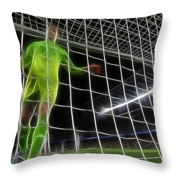 It's A Goal - Doc Braham - All Rights Reserved Throw Pillow