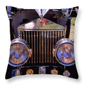 It's A Rolls Throw Pillow