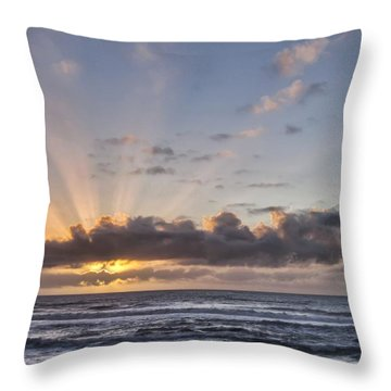 It's A Sunset - So What Throw Pillow