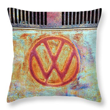 Throw Pillow featuring the photograph Its A Van Thing by Tim Gainey