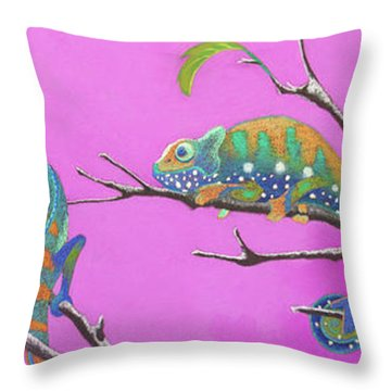 Its All Just An Illusion Throw Pillow by Tracy L Teeter