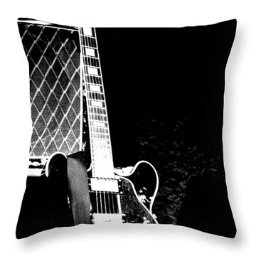 Its All Rock N Roll Throw Pillow