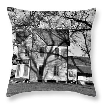 It's Been Awhile Throw Pillow by Jan Amiss Photography
