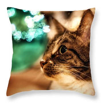 It's Beginning To Look A Lot Like....... Throw Pillow