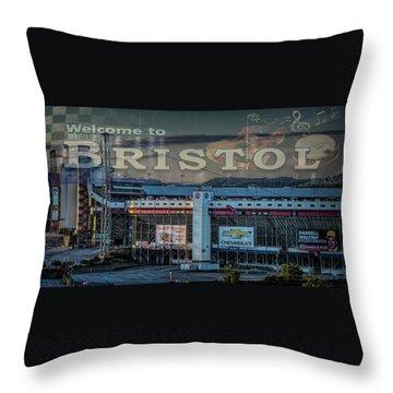 Its Bristol Baby Throw Pillow