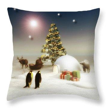 It's Christmas Time Throw Pillow