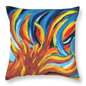 Its Elemental Throw Pillow