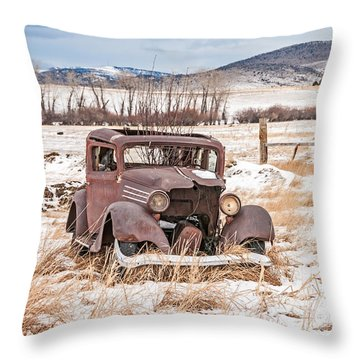 It's Getting Harder To Hold Things Together Throw Pillow