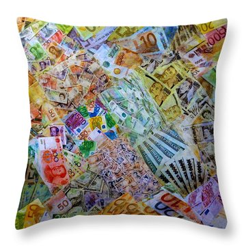 Collage Art For Sale Throw Pillows