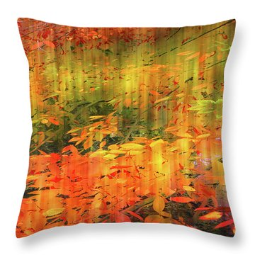 Throw Pillow featuring the photograph It's Nature's Way by Jessica Jenney