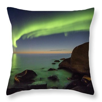 It's Not Even Night Yet Throw Pillow
