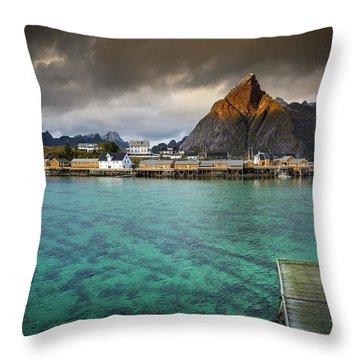 It's Not The Caribbean Throw Pillow