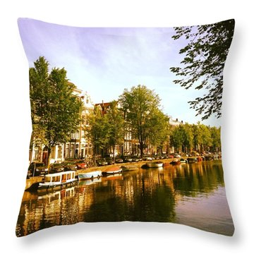 It's Oh So Quiet Throw Pillow