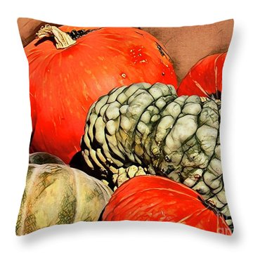 It's Pumpkin  Season Throw Pillow