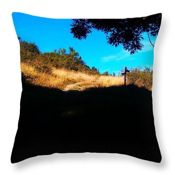 It's Smileland It's My Land Throw Pillow