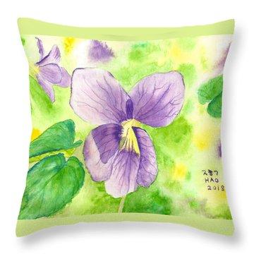 It's Spring Throw Pillow