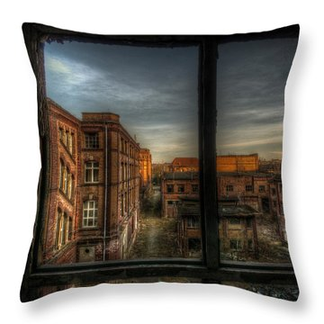 Its The End Throw Pillow