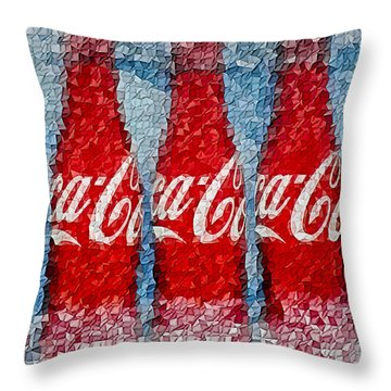 It's The Real Thing Throw Pillow by Susan Candelario
